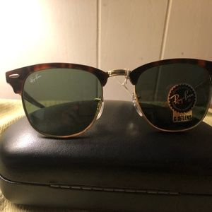 Ray-ban Brown RB3016 Clubmaster NWT